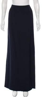 Oscar de la Renta Straight Maxi Skirt
