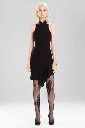 Josie Natori Knit Crepe Dress