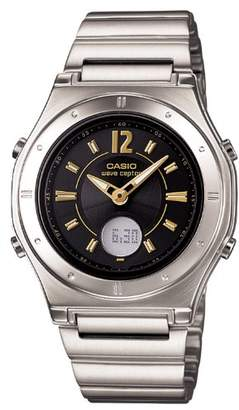 Casio (カシオ) - [カシオ]CASIO 腕時計 WAVE CEPTOR ウェーブセプター タフソーラー 電波時計 MULTIBAND 6 LWA-M141D-1AJF レディース