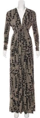Rachel Pally Printed Long Sleeve Maxi Dress