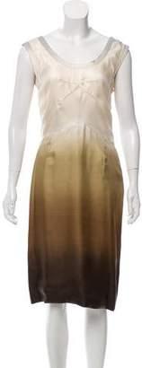 Prada Ombré Sleeveless Dress