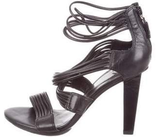 Diane von Furstenberg Multistrap Leather Sandals