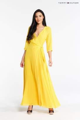 9451e9a7ed6 Tommy Hilfiger Womens Eva Maxi Dress - Yellow