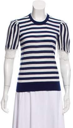 Dolce & Gabbana Cashmere Short Sleeve Top
