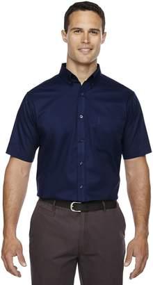 Ash City Core 365 Men's Optimum Short-Sleeve Twill Shirt