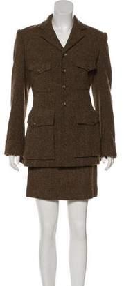 Ralph Lauren Wool Skirt Suit