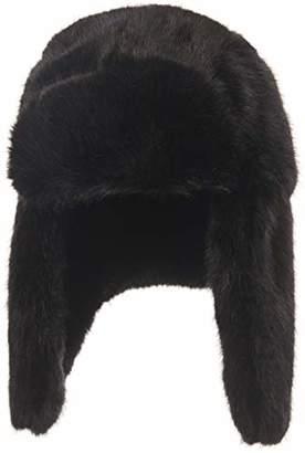 Under Zero Women Winter Faux Fur Bomber Hat Ear Flap Fluffy Snow Cap