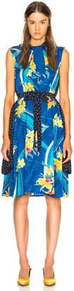 Vetements Printed Sleeveless Double Dress