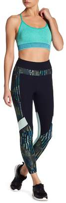 Bally Total Fitness High Rise Contrast Mid-Calf Leggings