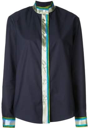 Rosie Assoulin stripe detail shirt