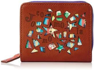 Jocomomola (ホコモモラ) - [ホコモモラ] 折財布 「マヒア」外ラウンドファスナー付折財布 5381300 34 オレンジ