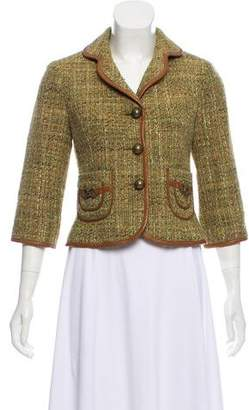 Cynthia Steffe Cynthia Notch-Lapel Tweed Jacket