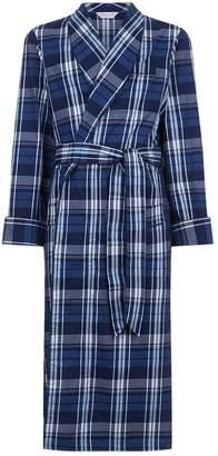 Derek Rose Check Print Robe
