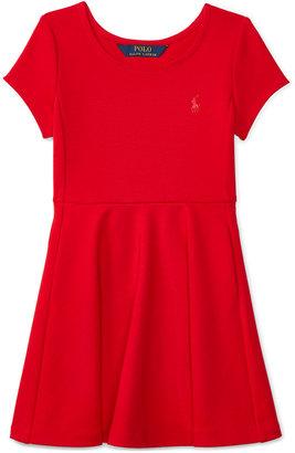 Ralph Lauren Fit & Flare Dress, Toddler & Little Girls (2T-6X) $59.50 thestylecure.com