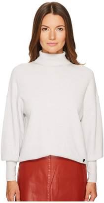 Sonia Rykiel Waffle Knit Turtleneck Sweater Women's Sweater