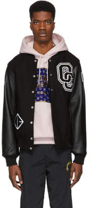 Opening Ceremony Black Classic Varsity Jacket
