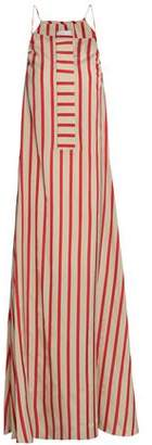 CHRISTOPHER ESBER Striped Woven Maxi Dress
