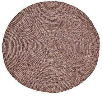 House Doctor Round Seed Hemp Rug D100cm