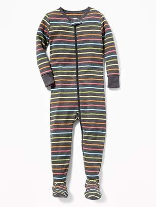 Old Navy Striped Footed Sleeper for Toddler & Baby