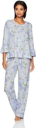 Carole Hochman Women's Cardigan Pajama Set