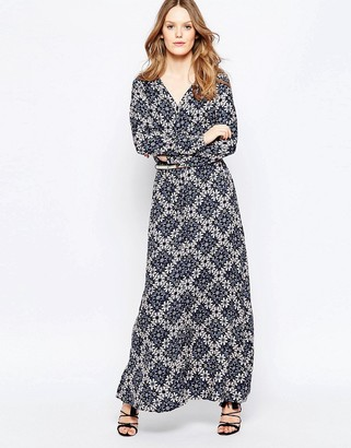 Only Long Sleeve Maxi Dress $57 thestylecure.com