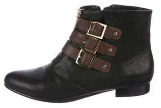 Elizabeth and James Buckle Ankle Boots