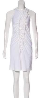 Y-3 Ruffled Knee-Length Dress