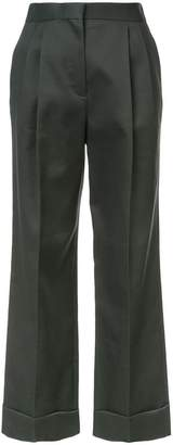 The Row Llano flared trousers