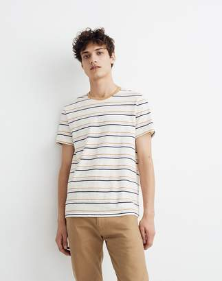 Madewell Allday Crewneck Tee in Essen Stripe