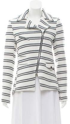 Veronica Beard Knit Moto Jacket