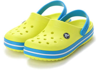 Crocs (クロックス) - クロックス crocs ジュニア クロッグサンダル Crocband Clog K 204537-73E