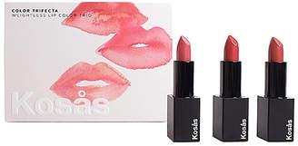 Kosas Color Trifecta Weightless Lip Color Trio