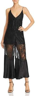 Alice McCall Give It Up Lace Jumpsuit