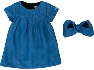 Karl Lagerfeld denim dress with headband