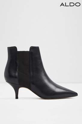 6b268f2834a217 at Next · Next Womens Aldo Kitten Heel Chelsea Leather Ankle Boot