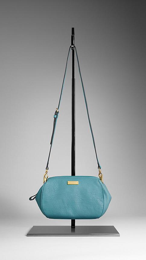 Burberry Grainy Leather Crossbody Bag