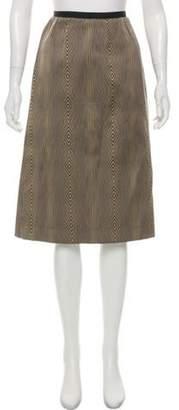 Ter Et Bantine Printed Knee-Length Skirt black Printed Knee-Length Skirt