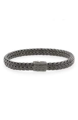 John Hardy Classic Chain Black Rhodium Plate Bracelet