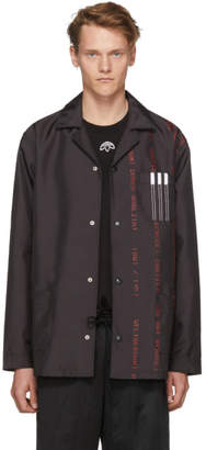 adidas by Alexander Wang Black Coach Jacket