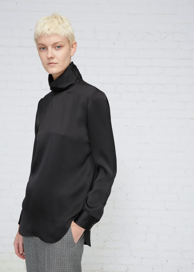 CALVIN KLEIN 205W39NYC Silk Turtleneck