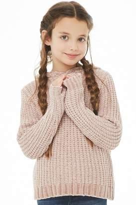 Forever 21 Girls Chenille Hoodie (Kids)