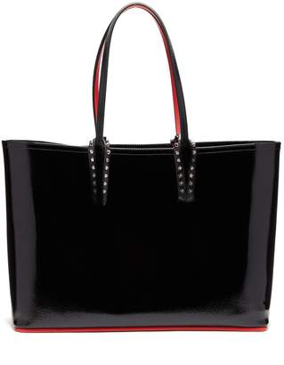 Christian Louboutin Cabata patent-leather tote