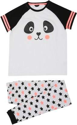 M&Co Teens' panda pyjamas