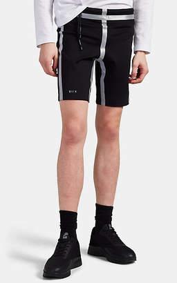 Siki Im Men's Reflective Compression Biker Shorts - Black
