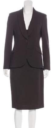 Michael Kors Linen-Blend Sleeveless Dress Set