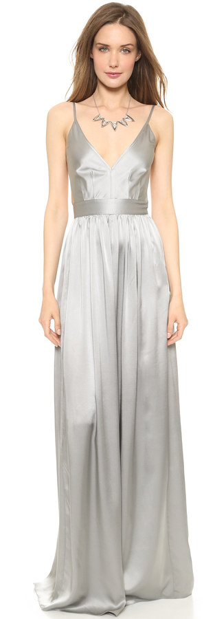 ONE by Contrarian Babs Bibb Maxi Dress 12