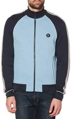 Original Penguin Sleeve-Striped Colourblock Track Jacket