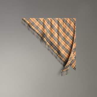 Burberry The Bandana in Vintage Check Cashmere