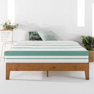 Best Price Mattress 12 Inch Grand Solid Wood Platform Bed Frame