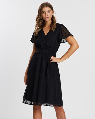 Atmos & Here Yasmin Midi Dress